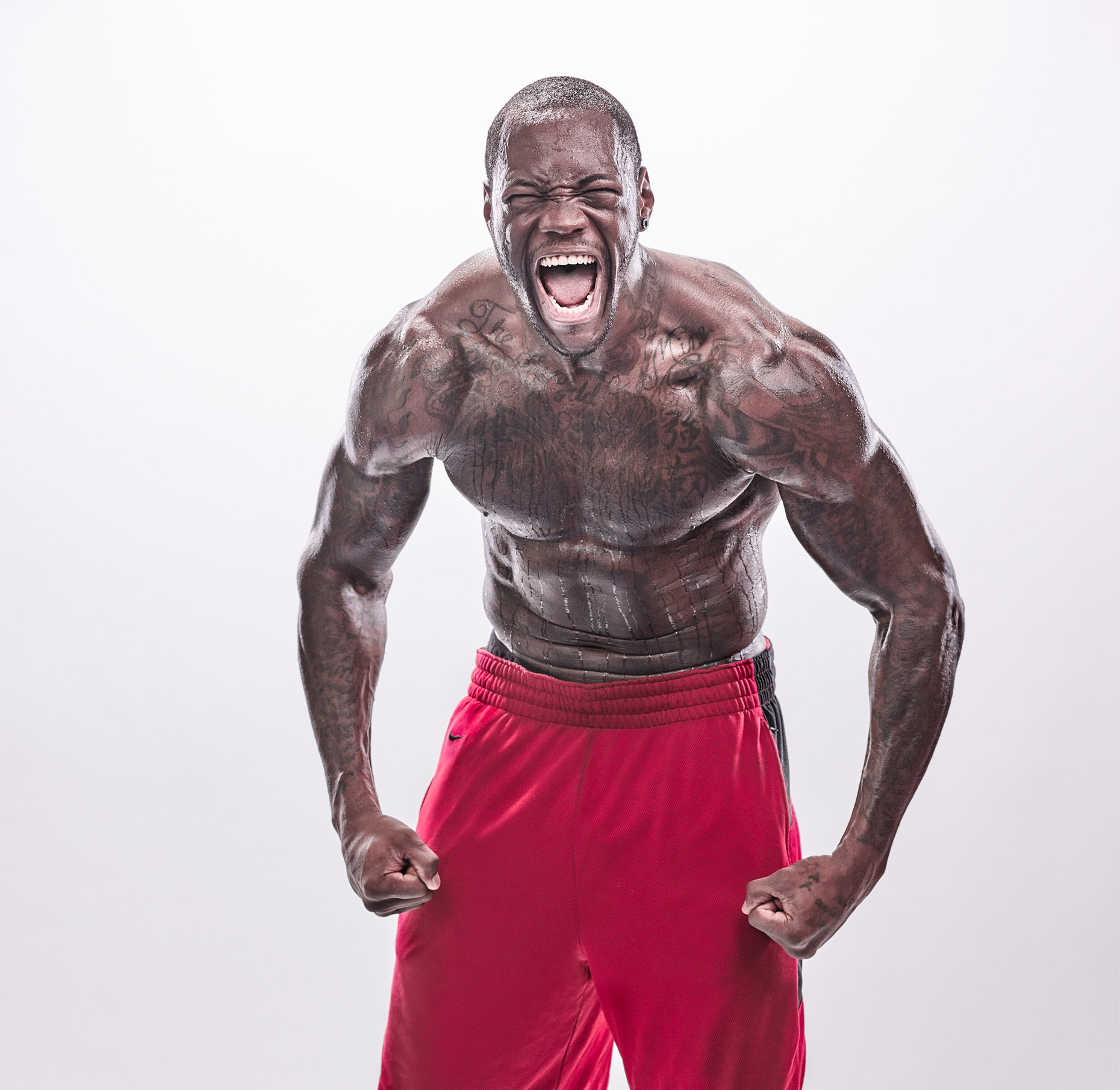 Deontay-Wilder-Scream-by-Michael-J-Moore_X